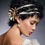 Греческая прическа на короткие волосы18