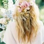 Невеста блондинка вид сзади