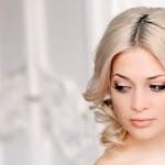 Невеста со светлыми волосами фото