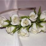 Аксесуар - цветы в волосы
