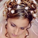 Прическа у невесты