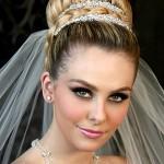 невеста с шикарными глазами
