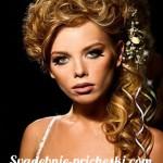 Свадебная прическа в греческом стиле на длинные волосы 17