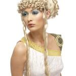Свадебная прическа в греческом стиле на длинные волосы 18