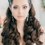 Свадебная прическа в греческом стиле на длинные волосы 19