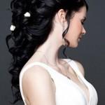 вадебная прическа в греческом стиле на длинные волосы