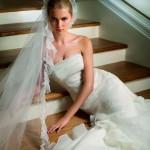 Свадебные прически для блондинок
