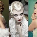 Образец свадебных причесок на короткие волосы