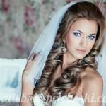 сногсшибательная невеста со свадебной прической