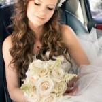 Невеста с аспущенными волосами