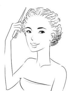 Закрепляем косы шпильками