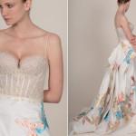 Модные свадебные прически и платья 2014
