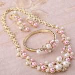 Ожерелье к свадебной прическе 2014