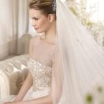 Красивые Свадебные прически 2014