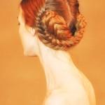 Коса в форме узла