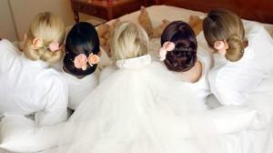Как сделать свадебную прическу красивой