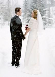 Свадьба в зимний сезон