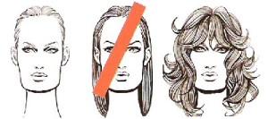 Стрижки для прямоугольного лица
