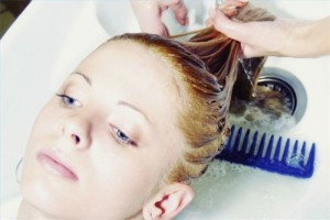 Мытье головы после процедуры