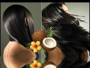 Красивые волосы - результат использования кокосового масла для волос