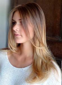 Брондирование волос техника