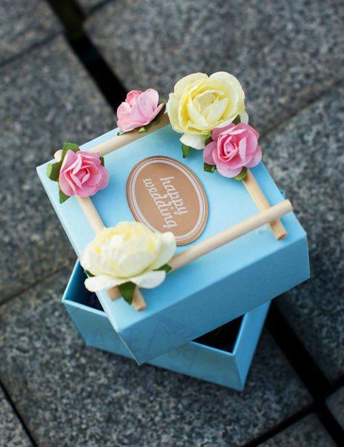 Бонбоньерка – классическая коробочка