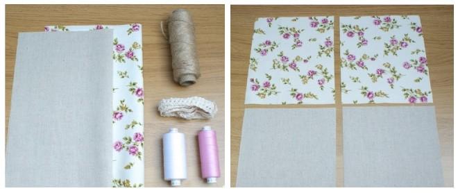 Подготовка к шитью и раскрой ткани