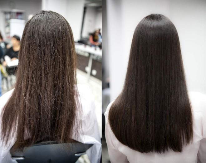 Средства для кератинового выпрямления волос, разновидности и особенности