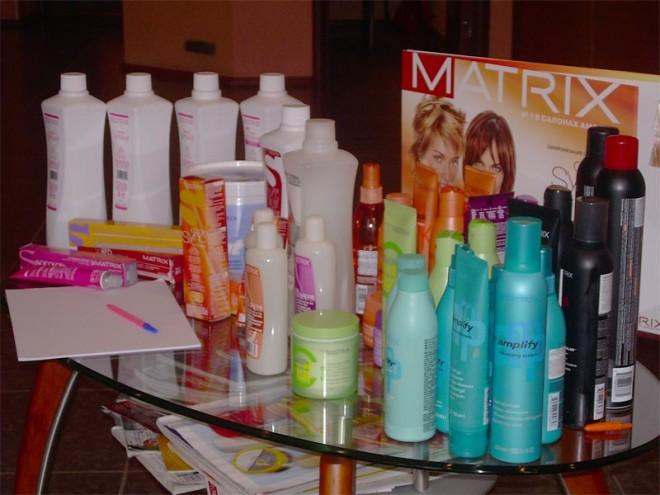 Глазурирование волос Матрикс (MATRIX)