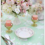 Мятная свадьба, оформление зала