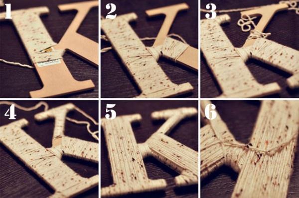 Как сделать букву в