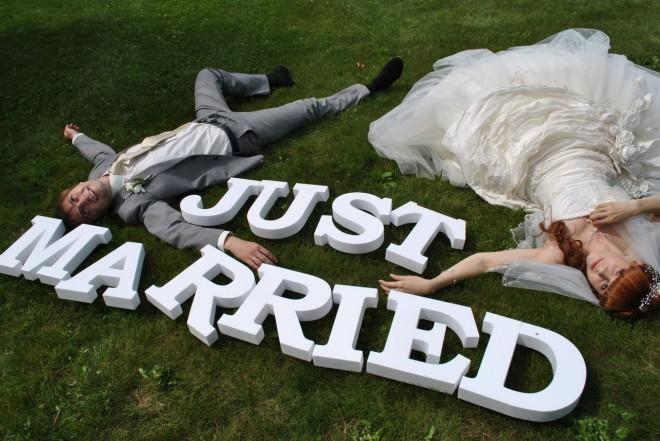 Буквы для оформления свадьбыБуквы для оформления свадьбы