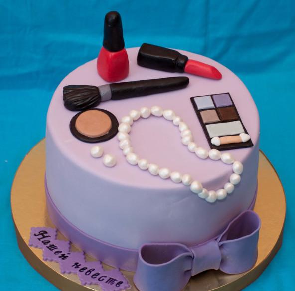 Торт для невесты-модницы