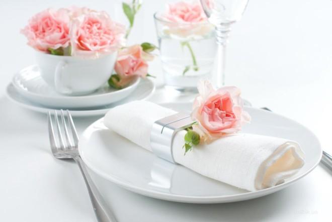 Декорирование свадебного стола в стиле шебби шик