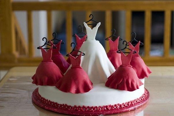 Торт для невесты на девичник