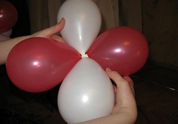 Гирлянда из шаров своими руками - сборка