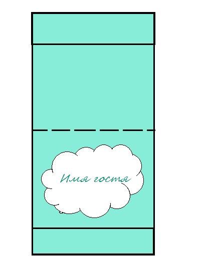 Простейшие прямоугольные таблички своими руками