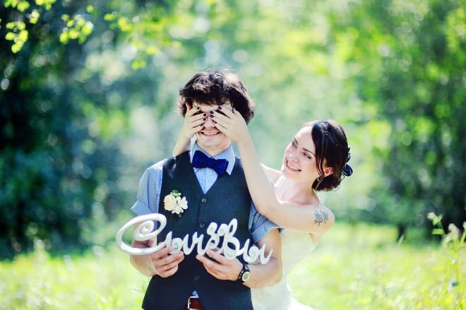 Буквы для оформления свадьбы