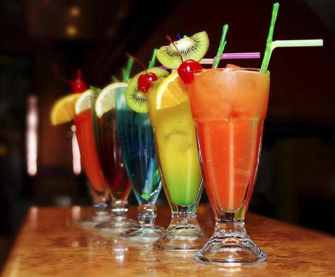 Гавайские коктейли