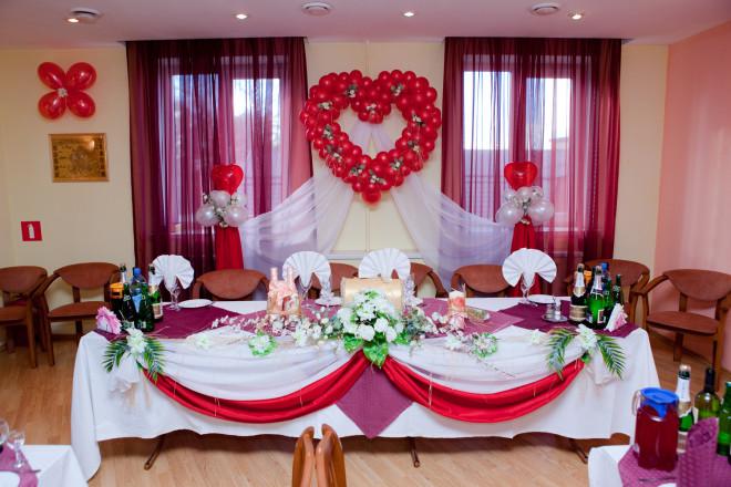 Свадьба украшение зала сделать