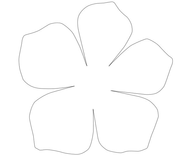 Цветы гавайской вечеринки своими руками