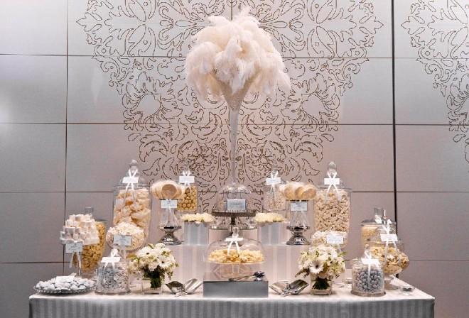 """Декорирование свадебного стола в стиле """"Великий Гэтсби"""""""