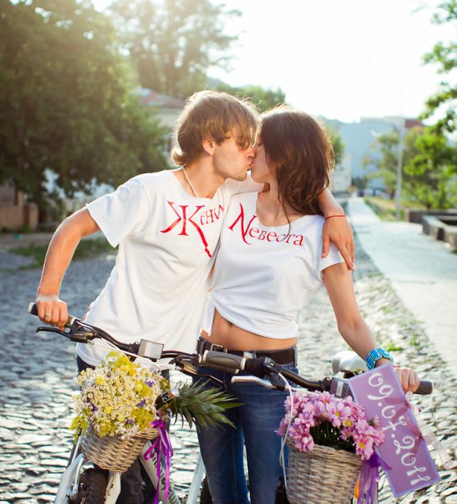 Свадьба в футболках