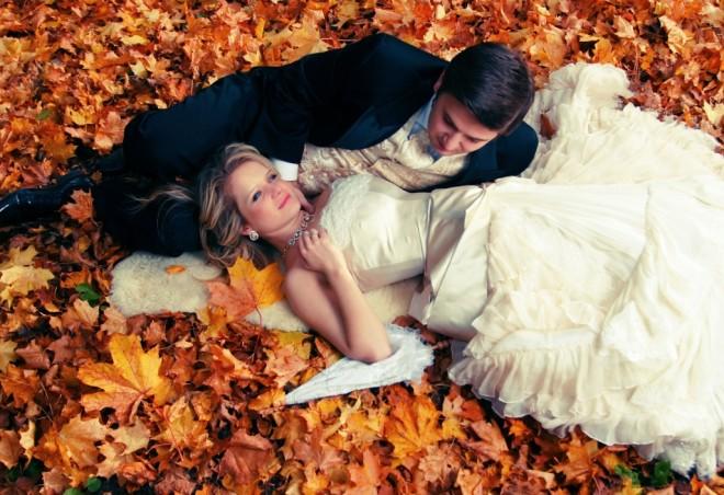 Осенняя свадьба вдохновение