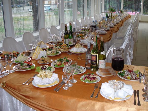 Что приготовить на свадебный стол в домашних  663