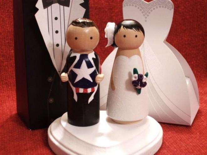 Сэкономить на фигурках для свадебного торта