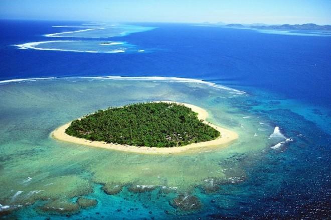 За уединением на Фиджи