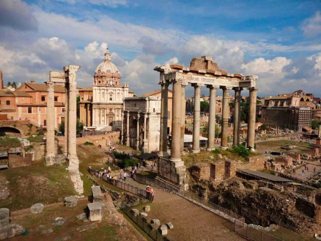 Древние чудеса Рима