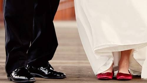 Удобная обувь для невесты