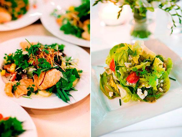 Великое разнообразие салатов